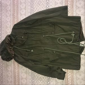 Foreign Exchange Trench Coat